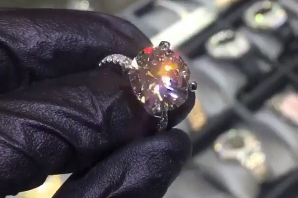 Seven carats! Photo: Ben Baller/Instagram