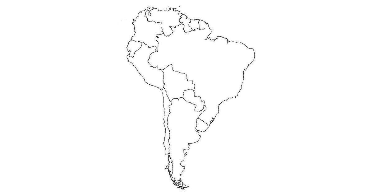 Why a Map of South America Is Going Viral
