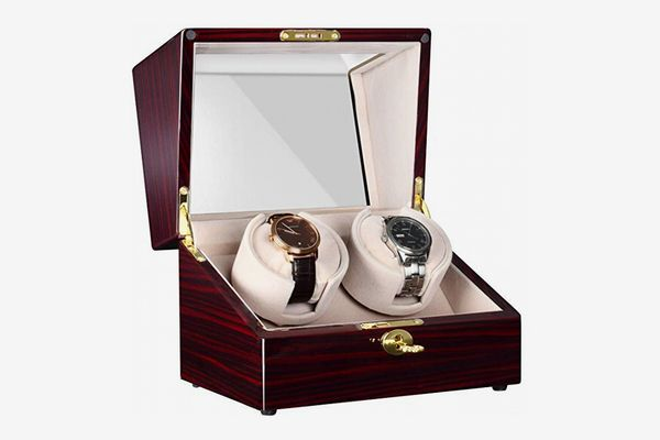 CHIYODA Dual Automatic Watch Winder with Quiet Motors