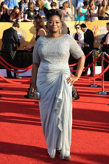Octavia Spencer==18th Annual Screen Actors Guild Awards - Arrivals==Shrine Auditorium, Los Angeles, CA==January 29, 2012==?Patrick McMullan==Photo - ANDREAS BRANCH/PatrickMcMullan.com====