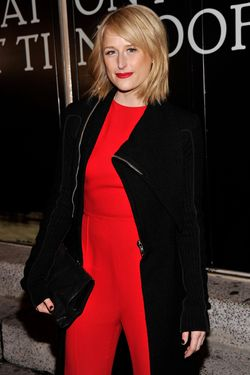 "Actress Mamie Gummer attends the ""Cat On A Hot Tin Roof"" Opening Night at Richard Rodgers Theatre on January 17, 2013 in New York City."