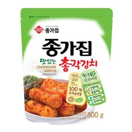 Chongga Ponytail Radish Kimchi