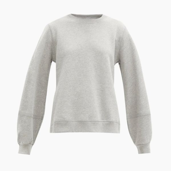 Ganni Software Recycled Cotton Blend Sweatshirt