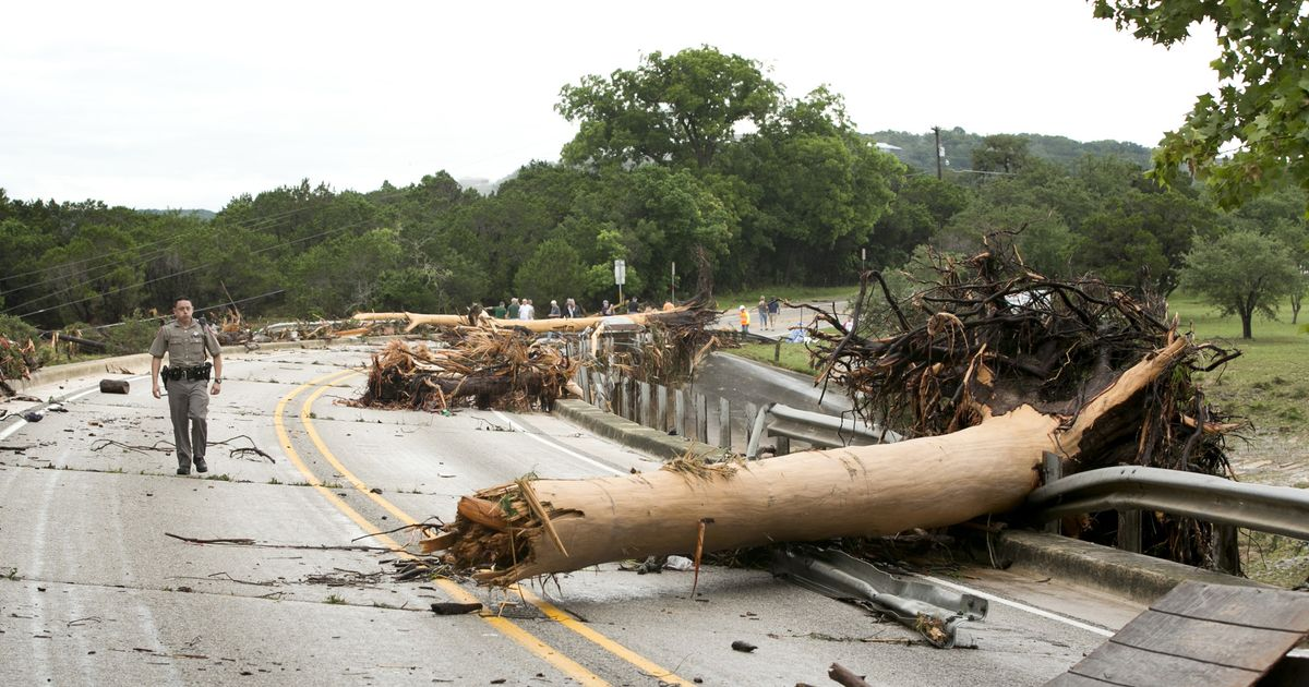 Texas and Oklahoma Begin Cleaning Up After Devastating Floods