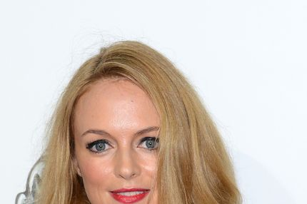 HOLLYWOOD, CA - SEPTEMBER 12: Heather Graham attends 'The Book Of Mormon' Los Angeles Opening Night at the Pantages Theatre on September 12, 2012 in Hollywood, California. (Photo by Araya Diaz/Getty Images for Pantages Theatre)