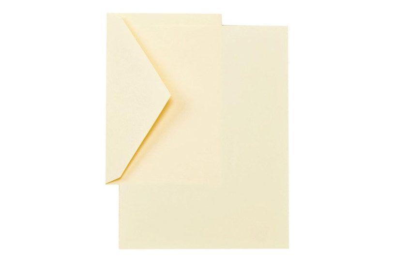 Crane CH3116 Ecruwhite Half Sheets, 40 sheets / 20 envelopes