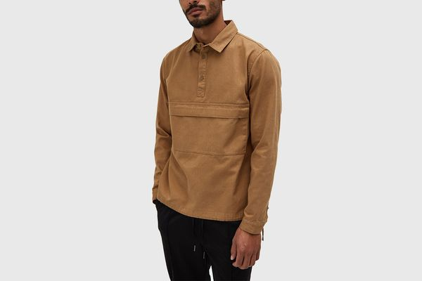 Native Youth Woodside Shirt in Sand