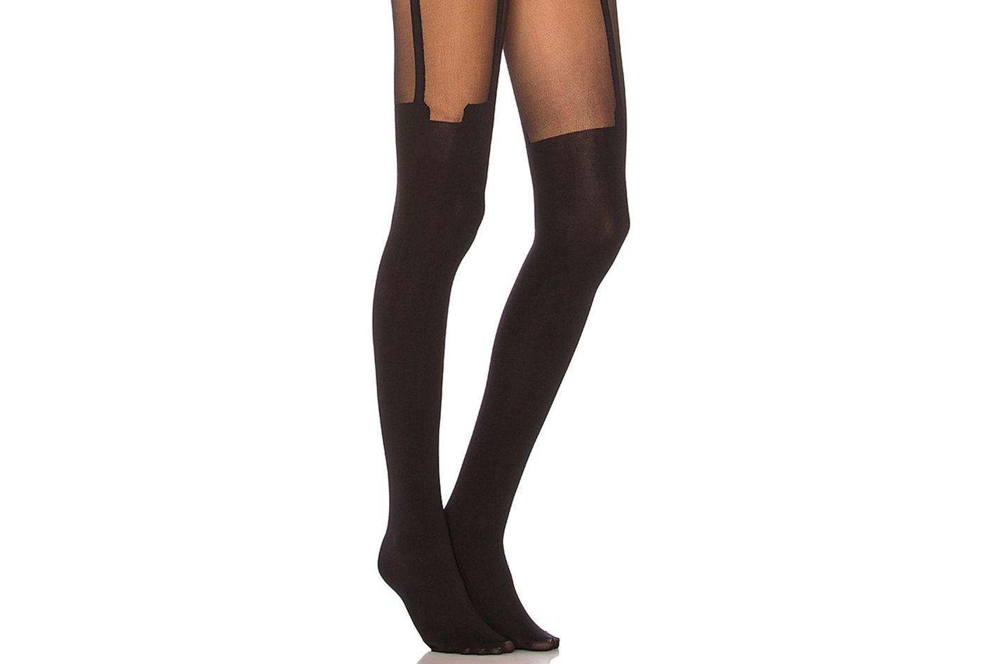 06a760bb013 Pretty Polly House of Holland Super Suspender Tights