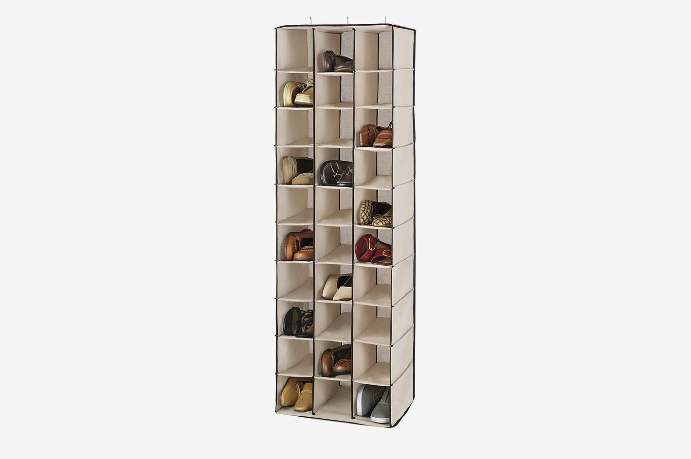 Whitmor 30-Section Hanging Shoe Shelves