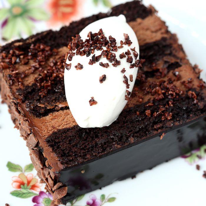 Carbone's Blackout Cake.