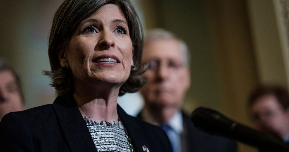 Joni Ernst Wants to Gut Social Security Behind Closed Doors