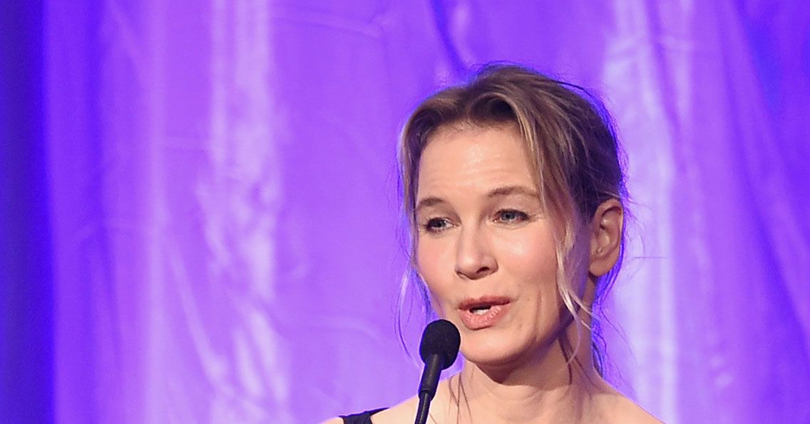 Renée Zellweger Writes About the Dangers of Tabloid ... Renee Zellweger
