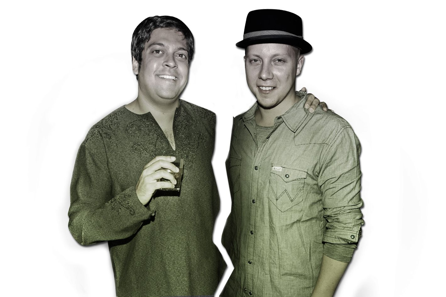 Michael Shah (left) and Matt Levine, former partners who are now locked in a legal battle.