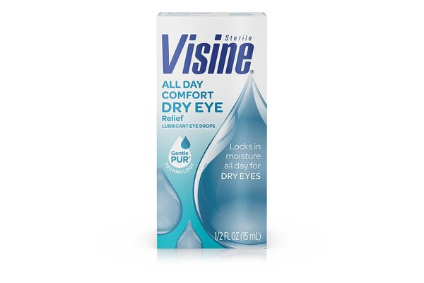 Visine All Day Comfort Dry Eye Relief Lubricant Eye Drops
