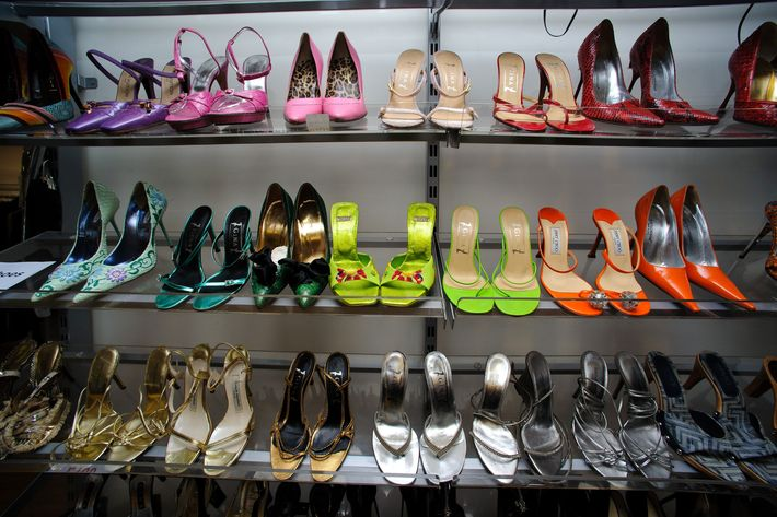 Victoria Beckham's shoes.