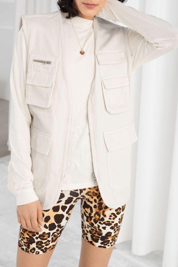 Denim Workwear Vest