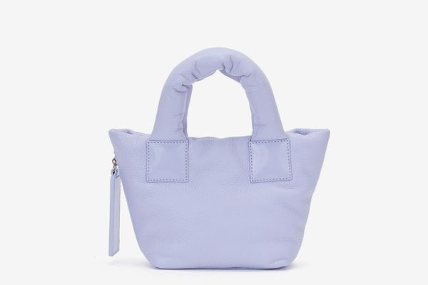 Lavender Baby Puffer Tote