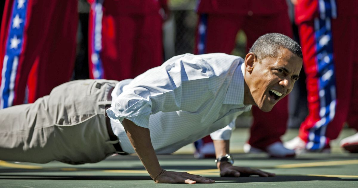 President Obama's Workout Playlist Is Almost Certainly More Eclectic Than Yours