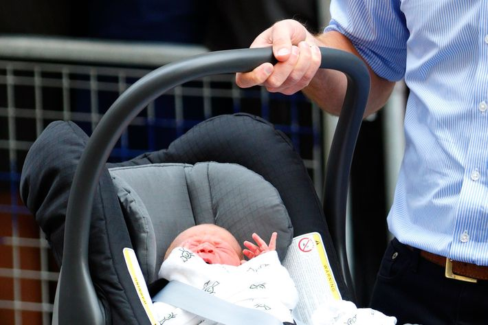 Royal Baby's Swaddling Blanket Sells Out