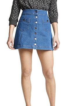 Capulet Persimmon Miniskirt