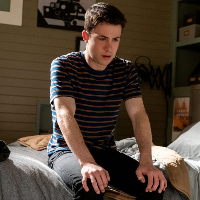 Dylan Minnette as Clay Jensen in 13 Reasons Why.