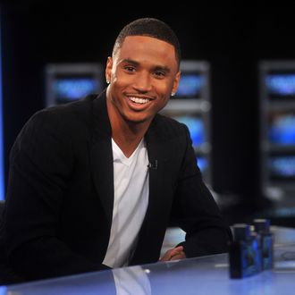 NEW YORK, NY - AUGUST 15: Singer Trey Songz visits America's Nightly Scoreboard on FOX Business Network at FOX Studios on August 15, 2011 in New York City. (Photo by Henry S. Dziekan III/Getty Images)