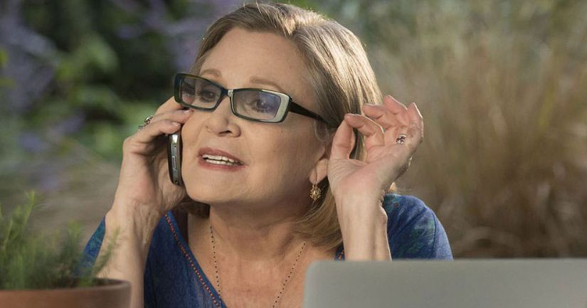 Carrie Fisher Got an Emmy Nomination for 'Catastrophe'