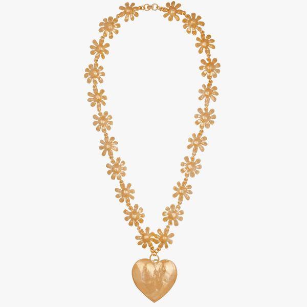 Mondo Mondo Bubble Infatuation Necklace in Gold