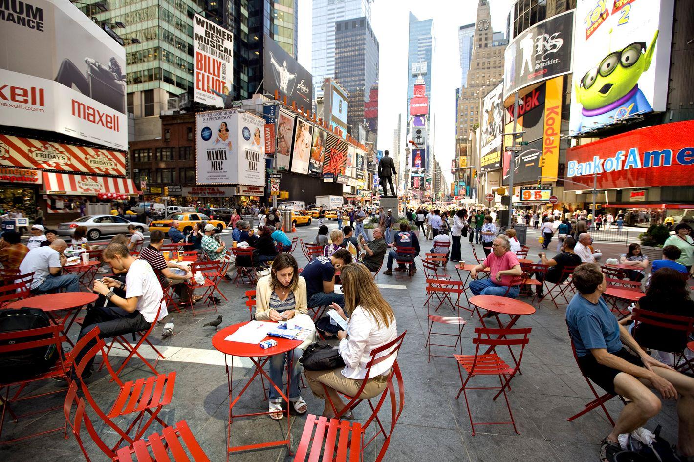 De Blasio S Proposal To Destroy Pedestrian Times Square Is