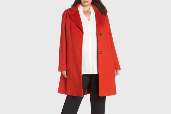 Loro Piana Fleurette Wool Long Coat