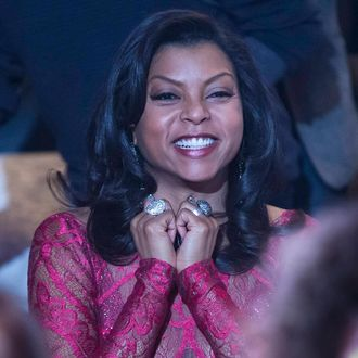 """EMPIRE: Cookie (Taraji P. Henson) watches the performance in the special two-hour """"Die But Once/Who I Am"""" Season Finale episode of EMPIRE airing Wednesday, March 18 (8:00-10:00 PM ET/PT) on FOX. CR: Chuck Hodes/FOX"""