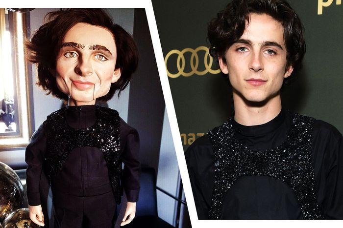 Timothée Chalamet Ventriloquist-Dummy-Maker Breaks Silence