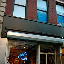 The blue neon was a holdover from Jerry's on Prince Street.