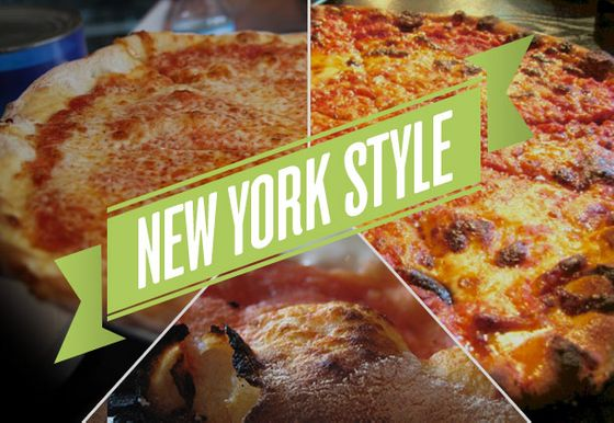 "What constitutes the classic ""New York""–style pizza? There's the thin-but-still-chewy crust and the wide, floppy slices that make folding mandatory. <a href=""http://nymag.com/listings/restaurant/lombardis/"">Lombardi's</a> started things in Little Italy more than 100 years ago, and now you can find great pizza on almost every corner in the city — and lots of less expected places around the country."