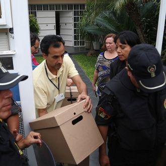 PERU-PANAMA PAPERS-MOSSACK FONSECA-RAID