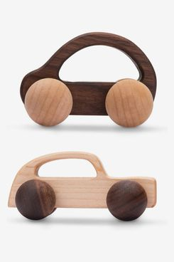 Promise Babe Wooden Rattle