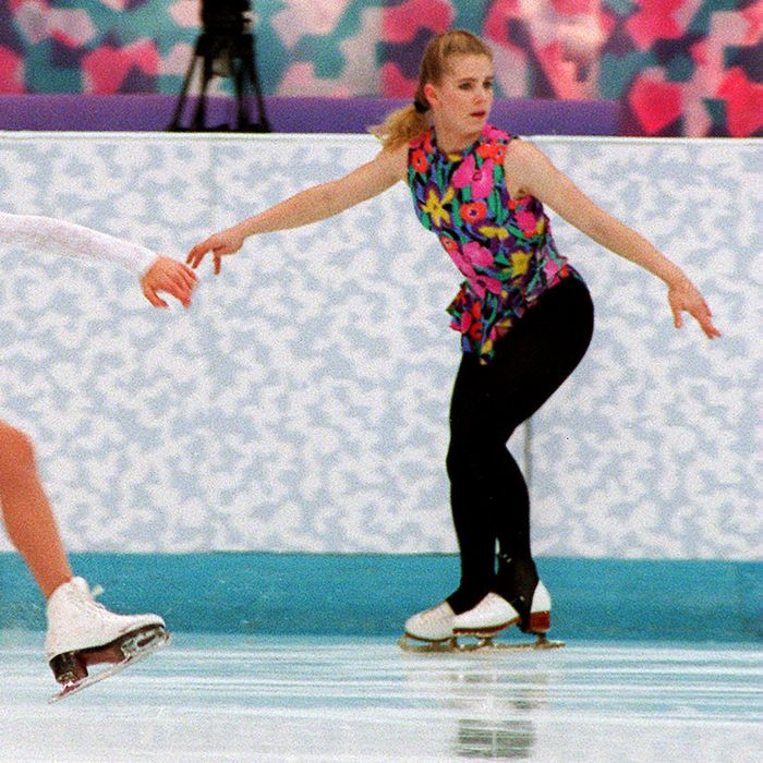 Nancy Kerrigan and Tonya Harding.