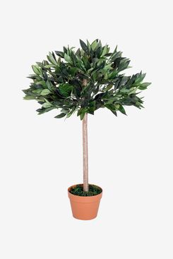 Outsunny 3-Foot Artificial Olive Tree