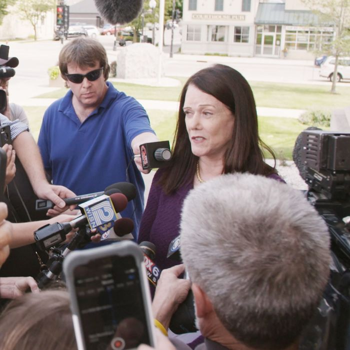 Kathleen Zellner in Making a Murderer Part Two.