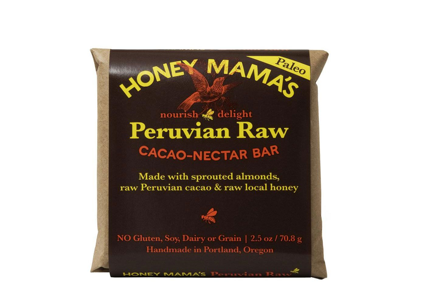 Honey Mama's Raw Nectar Fudge Bar