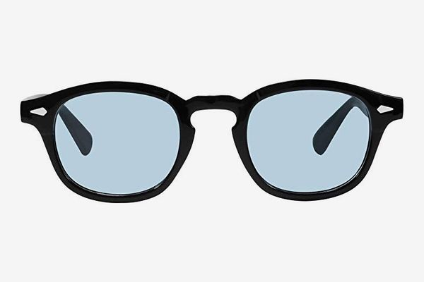 Bestum Square Sunglasses With Rivets Tinted Lens