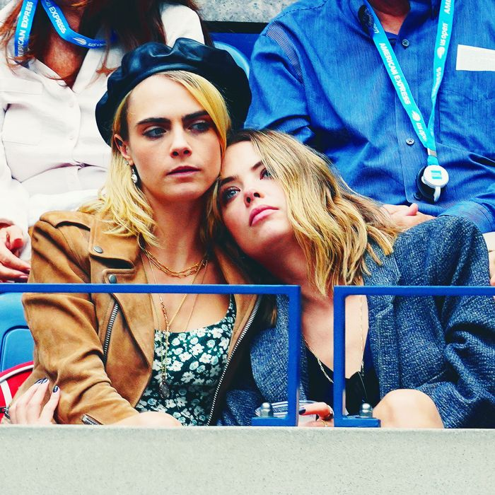 Cara Delevingne and Ashley Benson.