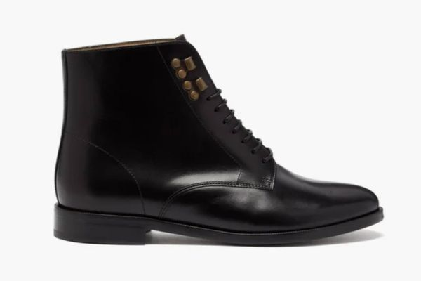 A.P.C. Frances Lace-up Leather Boots