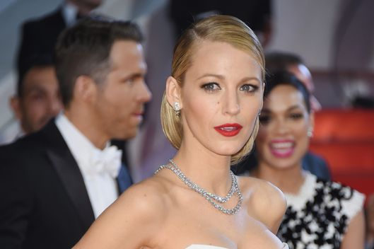 "CANNES, FRANCE - MAY 16:  Blake Lively attends the ""Captives"" Premiere at the 67th Annual Cannes Film Festival on May 16, 2014 in Cannes, France.  (Photo by Venturelli/WireImage)"
