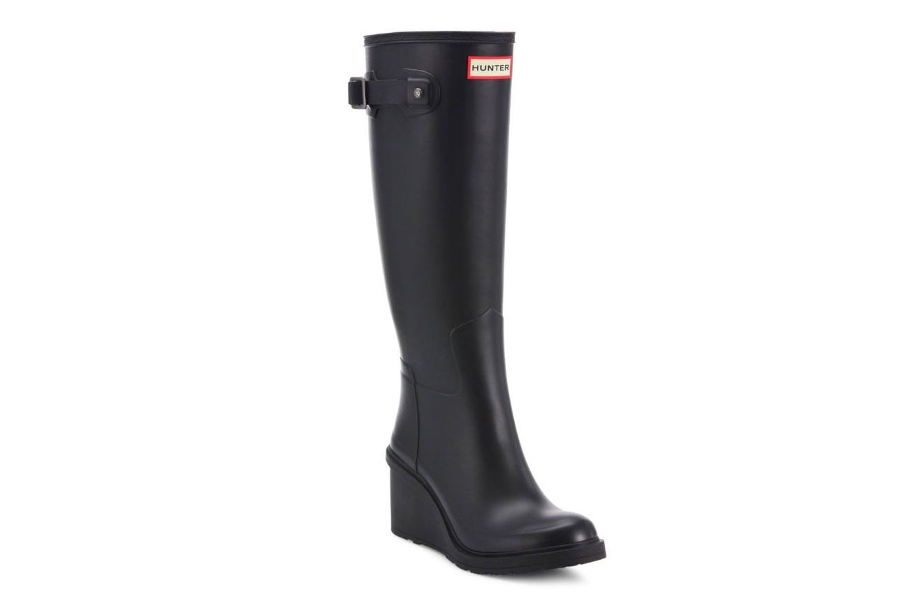 Hunter Original Refined Mid-Wedge Tall Rain Boots