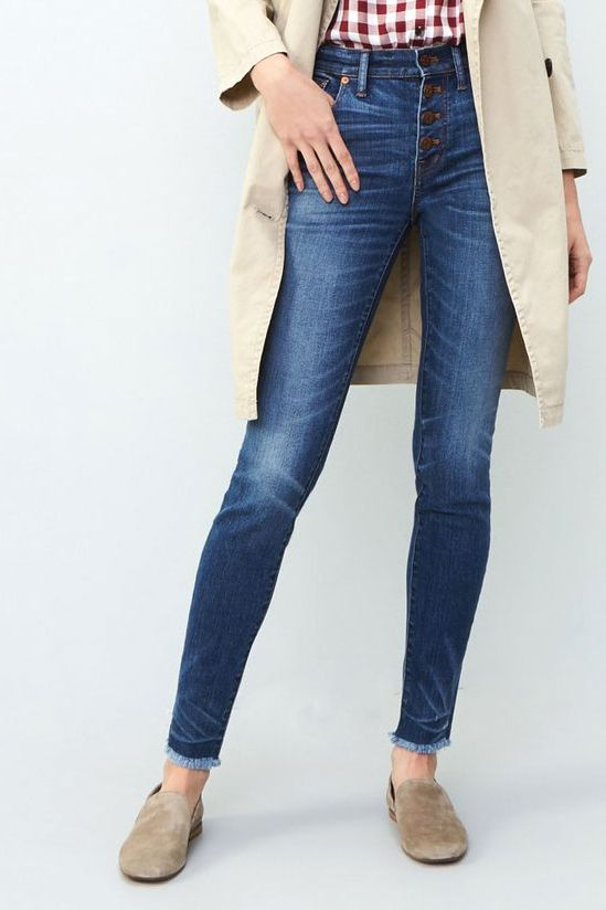 D jeans high waist skinny boot