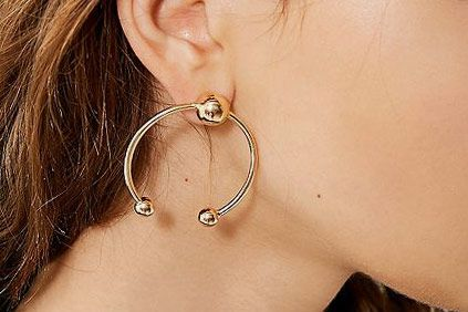 Birmingham Statement Hoop Earrings