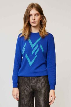 Ester Cashmere Jumper in Blue