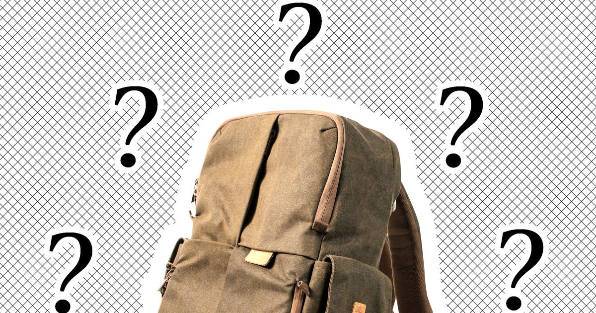What Do Guys Keep in Their Backpacks?