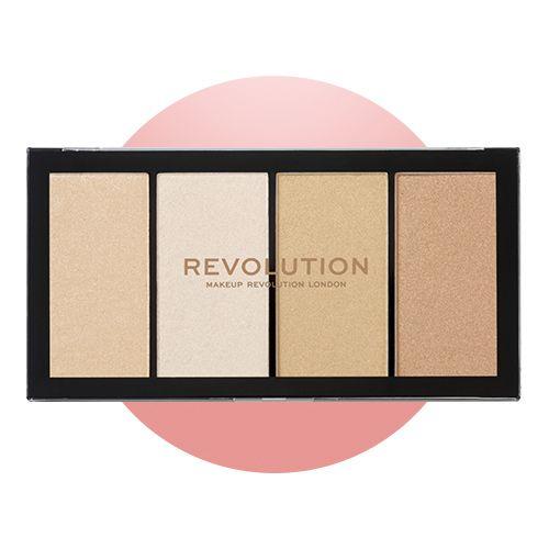 Makeup Revolution Re-Loaded Lustre Lights Warm Highlighter Palette